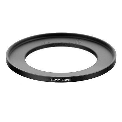 52-72mm Step-Up SLR Lens Metal Adapter Ring