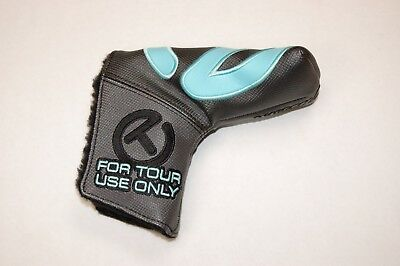 NEW INDUSTRIAL CIRCLE T SCOTTY CAMERON HEADCOVER BLADE Grey Black Tiffany  BLUE