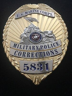 Full Size Military Police Corrections Badge Coin