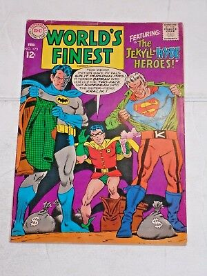 Worlds Finest #173 comic (FN) 1st silver age app. Two Face