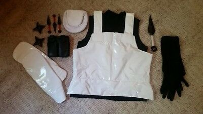 Naruto ANBU Vest and Accessories Homemade Cosplay Used