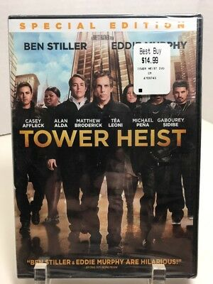 New Sealed Tower Heist (DVD, 2012) Widescreen