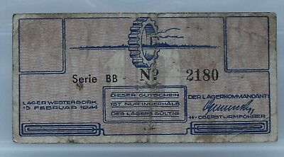 Nederland - Netherlands  - Concentration Camp Westerbork 10 Cent 1944