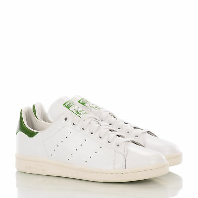New Adidas Originals Stan Smith B24364 Vintage Trainer White Green Shoes Us10.5