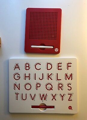 Kid O Magnatab Set Of 2 Alphabet Tablet Magnetic Play $49