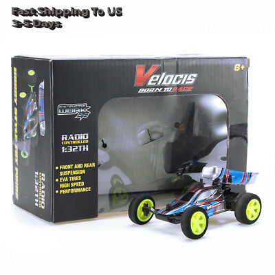 Velocis 1/32 2.4G RC Racing Car Mutiplayer in Parallel Operate USB Charging Edit