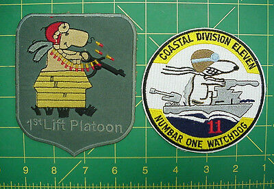Snoopy Patches, Part of the Peanuts Gang,Charles Schulz would be Proud!