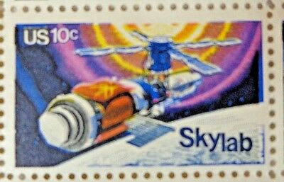 United States 10 Cents Skylab US Postage Stamps