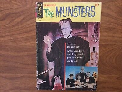 Gold Key 1966 The Munsters 8 TV Show