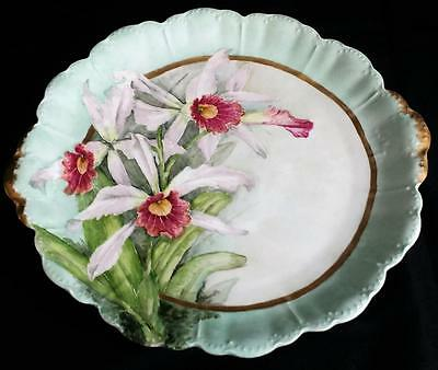 Rosenthal China Malmaison Bavaria Porcelain Hand Painted Artist SIGNED Charger
