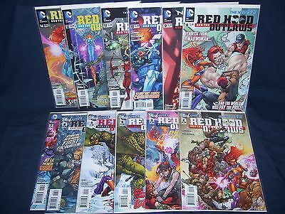 Red Hood and the Outlaws #2-#12, #14 New 52 NM DC Comics with Bag and Board