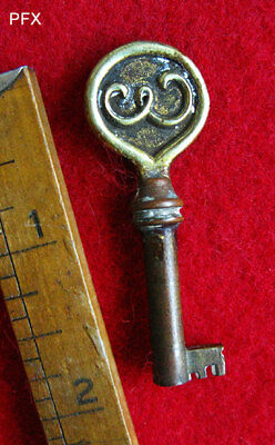 Rare Genuine Edison Phonograph Antique Old Brass Skeleton Key - More Keys Here