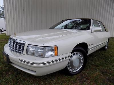 1998 Cadillac DeVille White/Tan - Well Maintained - 100% FLA!