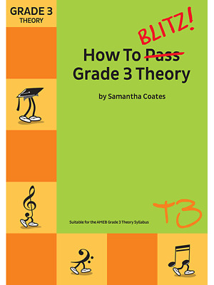 How to Blitz! Grade 3 Theory Samantha Coates New Edition T3