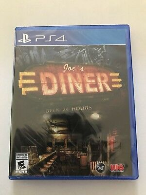 *Brand New* Joe's Diner: OPEN 24 HOURS(Sony Playstation  PS4)