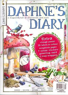 Daphne's Diary Number 7 - 2017 Lots of Extras!
