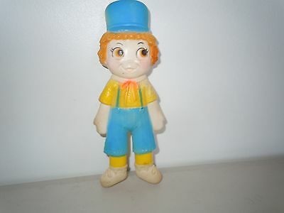 """Vintage 1965 Raggedy Andy Squeak Toy In Nice Condition Still Squeaks 8 1/2"""" Tall"""