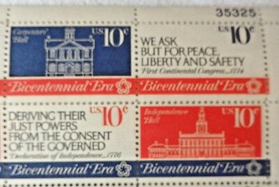 United States 10 Cents Bicentennial Era US Postage Stamps