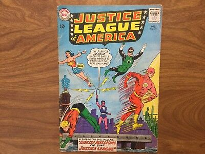 Justice League of America 24 Superman Batman Wonder Woman Adam Strange 1963