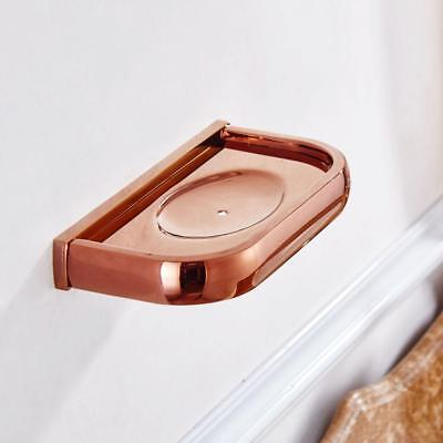 Shower Soap Dish Copper Holder Soap Tray Bathroom Kitchen Wall Mounted