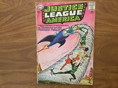 Justice League of America 17 Superman Batman Wonder Woman 1963