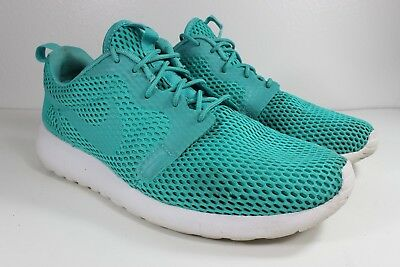 88f1d4fee574d Nike Roshe One Hyperfuse Breeze 833125-300 Clear Jade White Mens Shoes Sz 9
