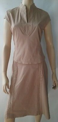 VERONIKA MAINE ladies size 12 skirt and top set 2 piece outfit stretch