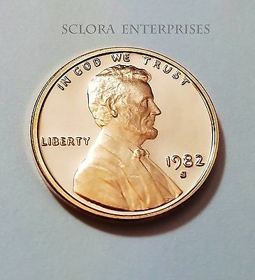 1982 S Lincoln Memorial *proof* Cent / Penny  **free Shipping**