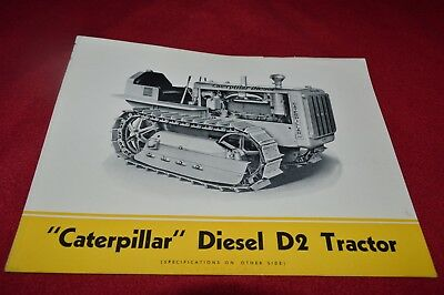 Caterpillar D2 Crawler Tractor Dealer's Brochure RPMD