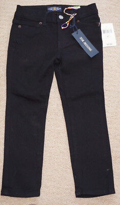 Lucky Brand Little Girls Zoe Black Denim Jeggings/Jeans Size 4 NWT
