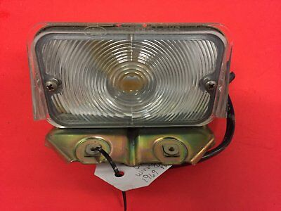 69 Ford Galaxie Front RH Turn Signal Bezel, Lens & Harness  SAE PD 69FFD (NOS)