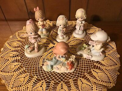 Lot of precious moments figures with Rare little mermaid. No boxes