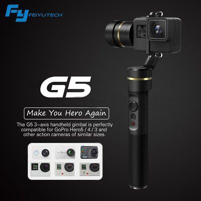 Feiyu G5 V2 3-Axis Splash-Proof Handheld Gimbal Stabilizer for GoPro HERO 5 4 YI