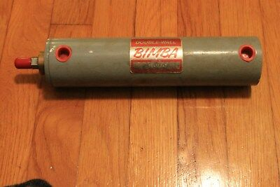 Bimba Double Wall Air Cylinder, DW-316-2, 200psi max, 150@300 F, Fast Shipping!!