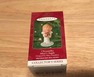 2001 Hallmark Mary's Angels CHRYSANTHA Ornament...#14 in series