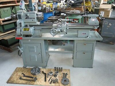 """Excellent Clausing Model 6300 12 x 36"""" Lathe Well Tooled"""