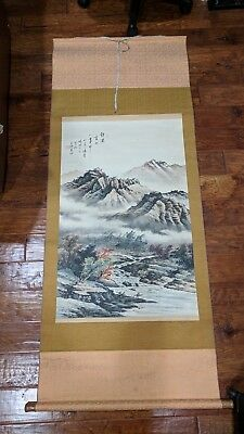 Chinese Art Painting Print Scroll