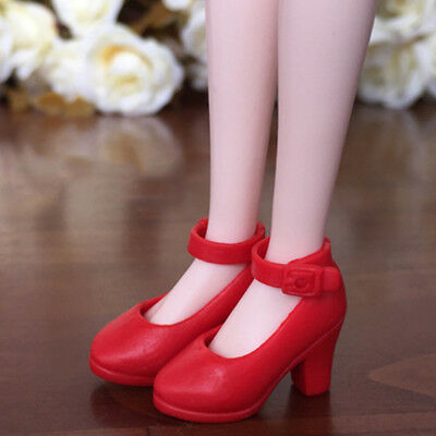 Blythe Doll Shoes # 1pr Shinng High Heel Shoes Fit Blythe Azone and Licca Doll