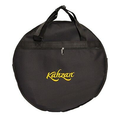 """NEW Kahzan 20"""" Padded Cymbal Carry Bag Case Percussion (Black)"""