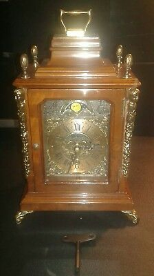 Warmink Wuba Clock, Rare Small Green-Band Clock, COMPLETE WITH KEY