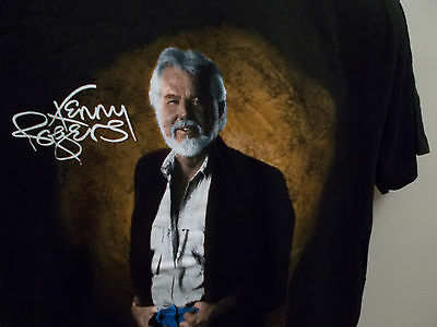 Kenny Rogers Productions T-shirt Black XL 46-48 Extra Large  Hanes Cotton