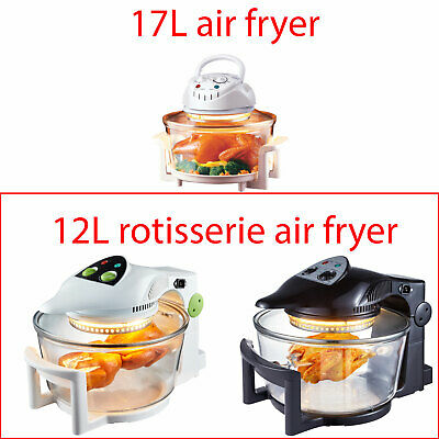 Super Chef 12L Air Fryer Rotary Rotating Rotisserie Convection Oven Multi Cooker