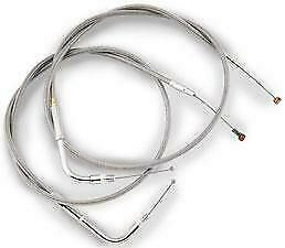Barnett Clear Coat Cable 40 in. L Idle 102-30-40014-08