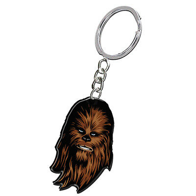 Licensed Star Wars Metal Keyring - Chewbacca