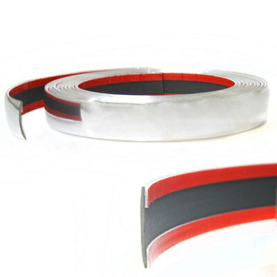 30mm x 5m Chrome Car Styling Tuning Moulding Strip Trim Self Adhesive Tape