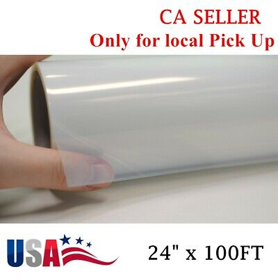 "US Stock! Waterproof Inkjet Transparency Film for Silk Screen 24"" x 100FT-1 Roll"