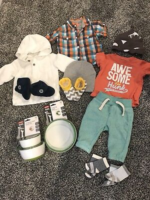 Baby Boy Lot 0-9 Months UGGs shoes included