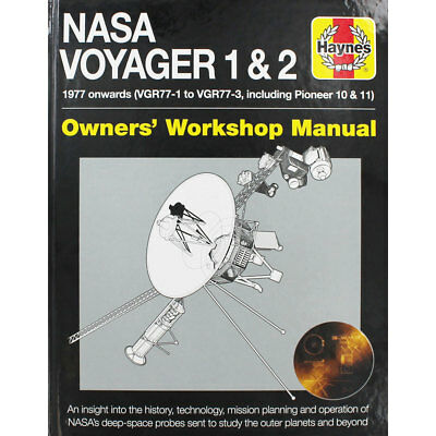 Haynes - Nasa Voyager 1 and 2 Manual (Hardback), New Arrivals, Brand New