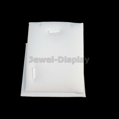 10 Pcs X Necklace Pendant Set Jewellery Retail Display Holder Stand White