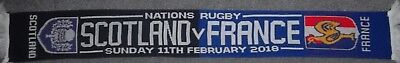 Scotland Vs France Rugby Scarf 6 Nations 2018